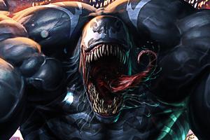Venom 4k Face New Wallpaper