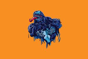 Venom 4k Minimalism 2020 Wallpaper