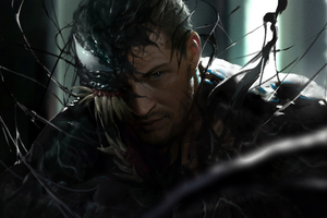 Venom 5k New Art Wallpaper
