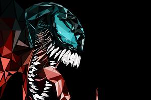 Venom Abstract 4k