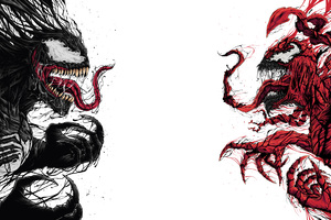 Venom And Carnage Artwork