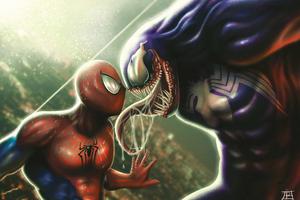 Venom And Spiderman 5k