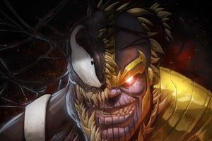 Venom And Thanos Crossover