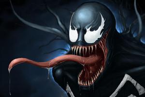 Venom Art Digital New Wallpaper
