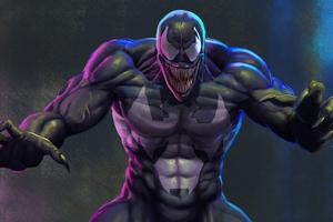 Venom Art4k Wallpaper
