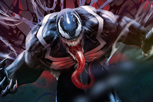 Venom Artwork 5k 2018
