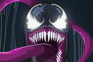 Venom Behance Art Wallpaper