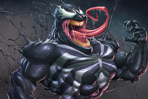 Venom Best Art Wallpaper