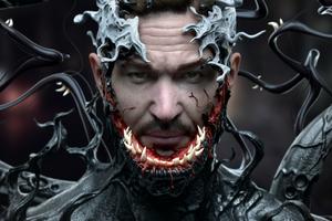 Venom Cgi Art Wallpaper