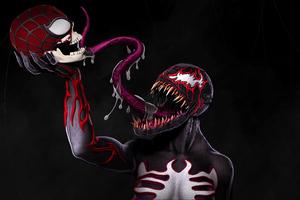 Venom Cgi Artwork Wallpaper