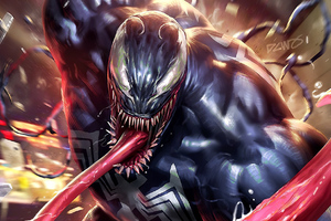 Venom Come Up Wallpaper