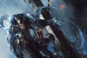 Venom Dark Matter 4k Wallpaper