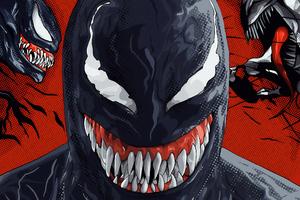 Venom Evil Art