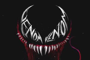 Venom Eye Logo Art
