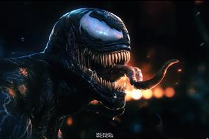 Venom Fan Digital Art Wallpaper