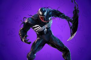 Venom Fortnite 4K Wallpaper