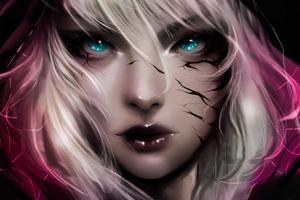 Venom Girl Art