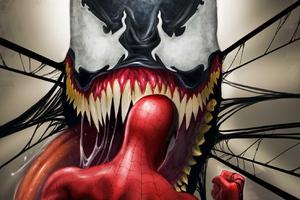 Venom Gonna Eat Spiderman