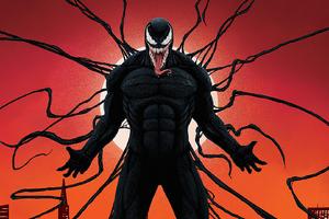 Venom Hd Art Wallpaper