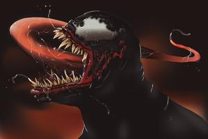 Venom Illustration 4k New