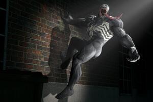 Venom In Spotlight 4k Artwork