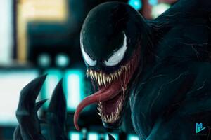 Venom In The City Art