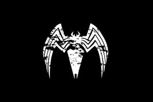 Venom Logo 4k Wallpaper