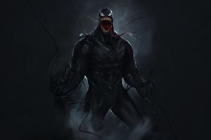 Venom Marvel Comic Superhero 4k