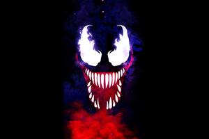 Venom Minimal 4k 2020 Wallpaper