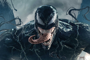 Venom Movie 2018 Official Poster