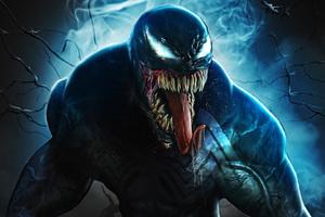 Venom Movie Fan Art Wallpaper