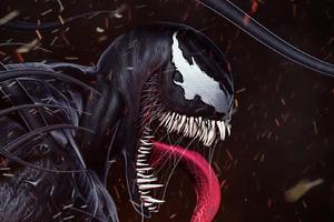 Venom Movie Fan Digital Artwork