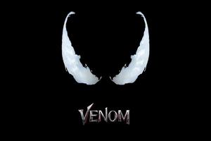 Venom Movie Logo 4k