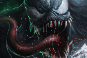 Venom New Digital Art
