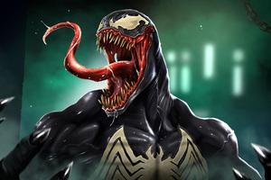 Venom Pop Culture Art