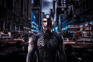 Venom Seeking Through City