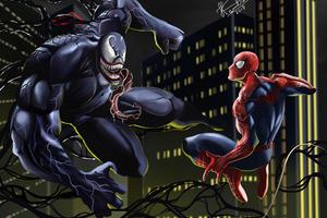 Venom Spider Art
