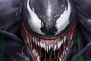 Venom Superhero Digital Art