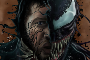Venom Tom Hardy Art 4k