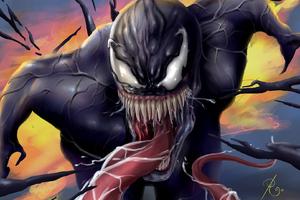 Venom Tom Hardy Art