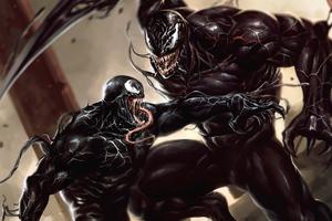 Venom V Riot Wallpaper