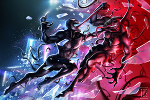 Venom Vs Carnage 4k