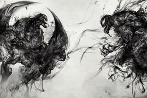 Venom Vs Riot Artwork 8k