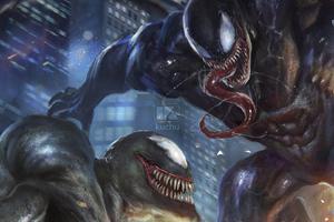 Venom Vs Riot Artwork