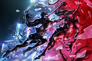 Venom Vs Riot Illustration