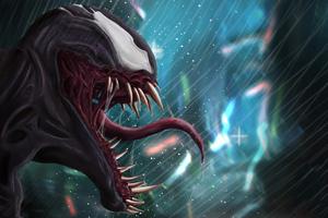 Venom4k Art Wallpaper