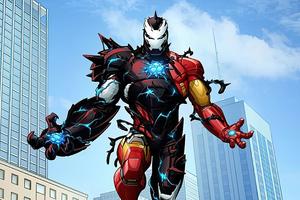 Venomized Iron Man Wallpaper