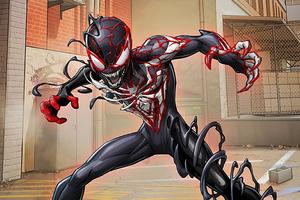Venomized Spider Verse