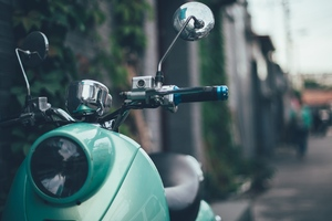 Vespa Scooter Vintage Wallpaper