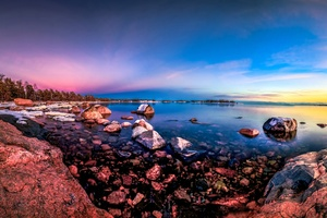 Vibrant Nature Ocean 4k